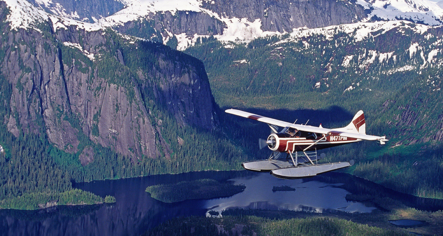 Ketchikan to Misty Fjords flights