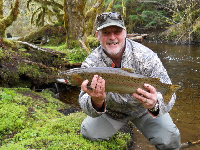 Fly-in trout fishing